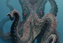 Sea Creatures / by Bonnie Detwiler, Nicolai
