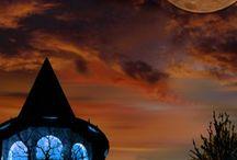 Shine on, shine on Harvest Moon / by Victoria Feinhor