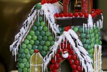 Gingerbread/Candy Houses / by maria bonifield