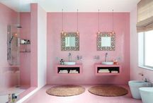 Lauras & Mines Bathroom / by Miranda Moog