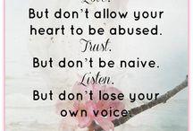 Words of Wisdom / by Belinda Ramsey
