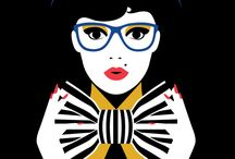 Illustration  Art / Fashion / by Rosa I. Medina