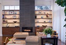 fireplace wall / by Carol Fix