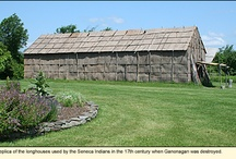 Ganondagan State Historic Site / PARKS IN THE FINGER LAKES REGION OF NEW YORK--In the rolling hills of what is now Ontario County, New York lies the site of a major 17th-century Seneca Indian town and palisaded granary. It was called Ganondagan or the Town of Peace. At its peak, Ganondagan was thought to have been a large community of 150 bark longhouses with an estimated population of 4,500. For more information about this park, see http://www.ilovethefingerlakes.com/recreation/stateparks-ganondaga.htm  / by ILovetheFingerLakes
