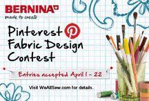BERNINA Fabric Design Contest Entries / by BERNINA WeAllSew Blog