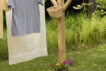 Clothes lines  / just hanging around doing laundry! / by Erica Birnbaum
