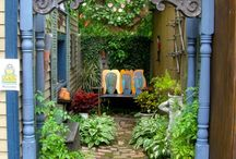 """Garden Paths / *** Click on """"# pins"""" button to see all earlier pins that have been posted. / by Jackie Newberry"""