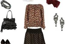 My favorite dress combinations / by Renji Anooj