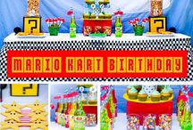 PARTY ON: Mario love / Super Mario Brothers Party / by Tiffany Benson <PaperLaneDesign>