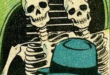 Dead in comics / by Joanna Conda