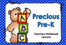 Precious PreK - Teachers Notebook / Please pin TEACHERS NOTEBOOK lessons, pictures, ideas, etc. that are appropriate for pre-kindergarten. Products may be paid or free. Please pin 2 free items or ideas for every 1 paid item.  / by Teaching with Nancy