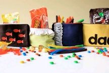 Homemade Goody Bags for Halloween / Make homemade trick or treat bags for Halloween this year! Opt for these cute goodie bag ideas instead of the standard store bought bag or pillowcase. The kids will love these Halloween treat bag ideas. / by AllFreeSewing