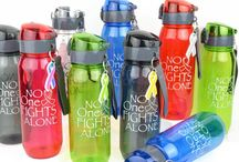 Cancer Drinkware / Drink in Style with Cancer Mugs, Water Bottles, and Tumblers / by Choose Hope