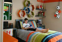 Boy cave  / Ideas for boys room / by Margie Williamson