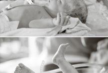Newborn Hospital Photos / by Nicole Nicole