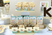 Alphabet Baby Shower / Alphabet Baby Shower theme / by Modern-Baby-Shower-Ideas.com