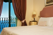 Rooms / Taormina  Hotel Villa Carlotta rooms: blend modern comfort with timeless good taste. The decor is elegant, restful, and warmly inviting / by Hotel Villa Carlotta Taormina