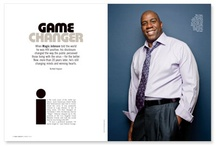 Magic Johnson / by POZ Magazine