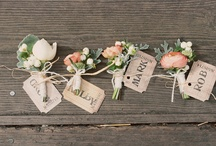 Weddings :: Peach! / I love this soft color with metals and woods....it is so versatile!  Lately, I love in so many combinations..with creams & greens, or with greys & light blue. / by Angela's Bella Flora, Inc.