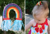 Party | Color Me A Rainbow Ideas / by Jessica |OhSoPrintable|