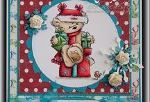 stamped cards / by Marnie Nash Da Rosa