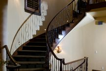 Splendid Staircases / These splendid staircases create amazing drama within an entry, or they become the main focal point within a room. Whether rustic, or sweeping and elegant, these noteworthy staircase designs offer maximum style. / by House Plans and More