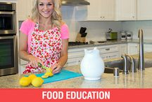 Food Education / Nutritional Tips and Tricks to Live a Healthy, Knowledgeable Lifestyle! / by Skinny Mom - Healthy Living for Women