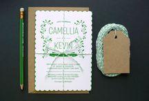 Wedding Invitations & Stationery / by Tul y Flores .