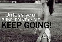 Just keep going.... / by Amanda LaRue-Warren
