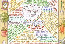Thanksgiving - Giving Thanks / by Rachel Wormhoudt-Butler