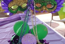 Mardi Gras Themed Party / by Gail Gibbs