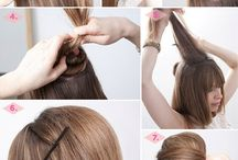 Hairstyle | Tutorials / Beauty   Visit my Pinterest and follow me  Hair Recipe  Diy  And more!  / by feer gamboa