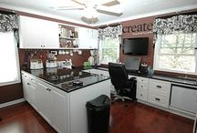 Sewing Room Ideas / by Kris Riddle