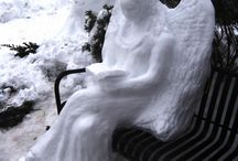 Sand, Snow and Ice Sculptures / by Pamela Gilberti