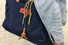 totes and leather / create and carry / by mybricole