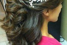 wedding hair / by Vera Ulloa