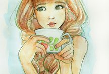Cute ilustrations / by Teresa Knezevich