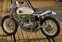 Motorcycles Cafe & Classic / licensed to ride - California M1 (custom bikes) / by Jammie Friday