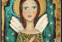 Angels / by Sharon Campbell