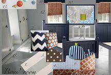 Hudson's big boy room / by Kate Varn