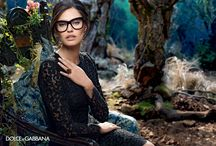 Winter 2015 Eyewear Advertising Campaign / Winter 2015 Eyewear Advertising Campaign shot by Domenico Dolce #dolcegabbana #dgeyewear  www.dolcegabbana.com/eyewear/sunglasses / by Dolce & Gabbana