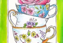 Tea Art / by Vicki Arnold