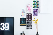 Interiors - Offices / Inspiring office and studio design, decorating, and styling ideas. / by Lesley Myrick