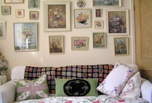 Shabby Chic / I like the combination of french county and shabby cottage style / by Kathryn Morin