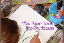 Tot  & Preschool Foot & Body theme / by Samantha
