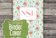 Binder Covers / by Citrus Paper