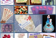 Doc McStuffins party / ideas for the granddaughter.. / by Susan Strohl
