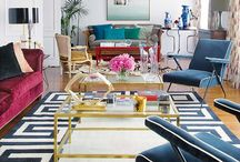 Living With Colour / Colourful interiors / by Kit Lang