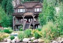 Idaho Lakefront Cabin Designed by Linda L. Floyd Interior Design  / A timbered cabin overlooking Payette Lake, McCall, Idaho / by Linda L. Floyd Interior Design