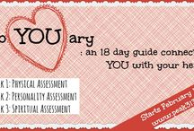 febYOUary: an 18 day guide connecting YOU with your health / by Clare